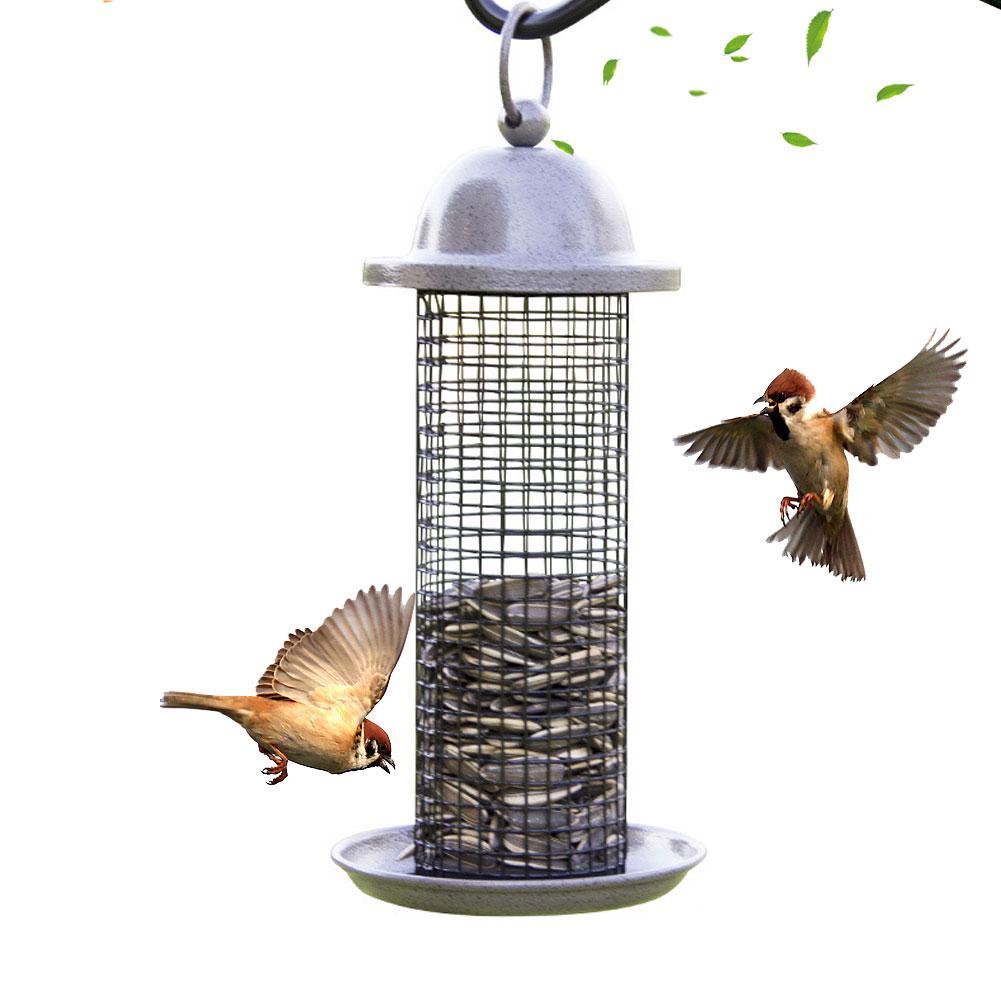 Hanging Wild Bird Feeder Durable Container Hanger Good Outdoor Garden Feeds