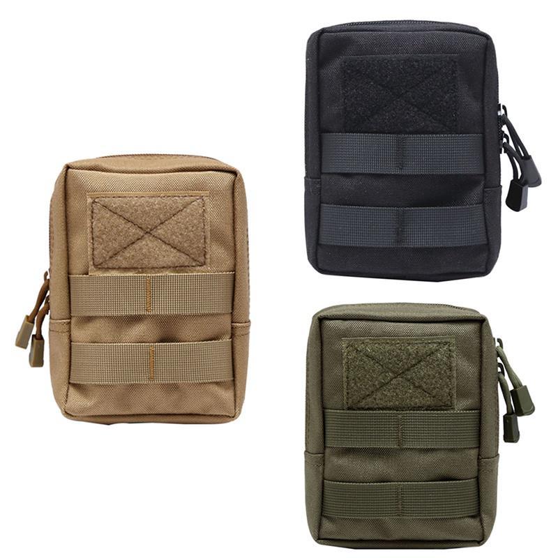 1000D Tactical Molle Pouch Utility Waist Belt Bag EDC Tools Phone Case Holder