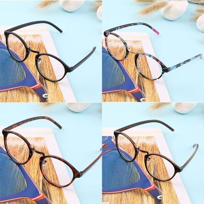 Large Oversized Vintage Glasses READING Clear Lens Thin Nerd Glasses 2.50