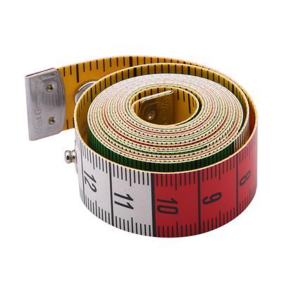 SODIAL 3 metres 300CM Ruban?doux a tailleur de couture Regle de mesure de corps Regle de couture