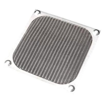 5PCS 60mm PC Case Cooling Fan Filter Black Dustproof Case