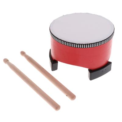 In Box Red oder RED Half Moon Percussion Tamburin Shaker Instrument