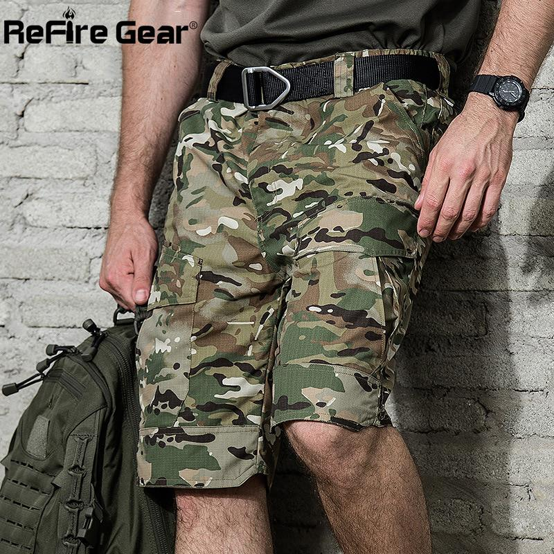 Men/'s Quick Dry Hiking Cargo Shorts Waterproof Army Outdoor Combat Casual Pants