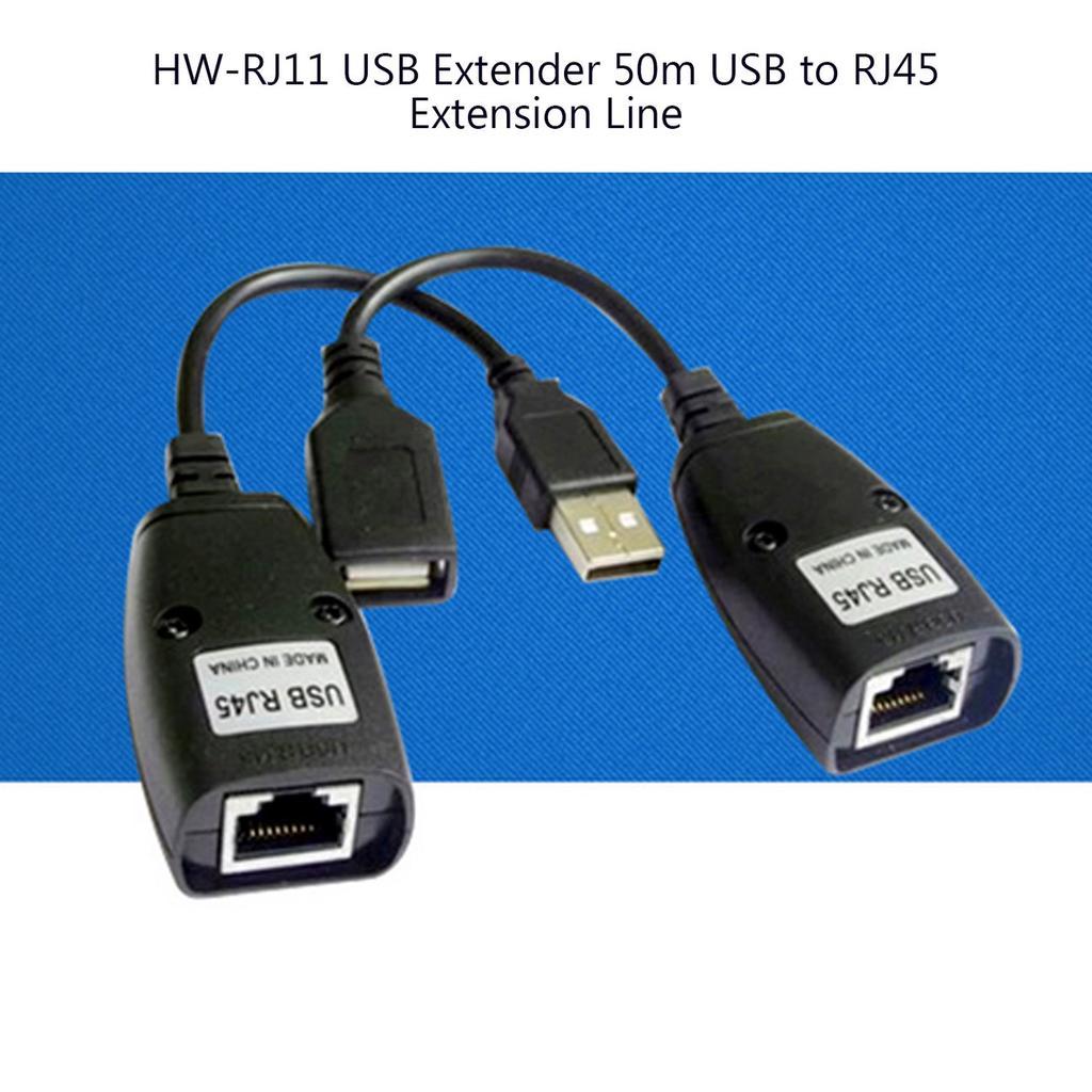 USB to RJ45 Converter Internet Adapter Signal Extender Receiver Transmitter