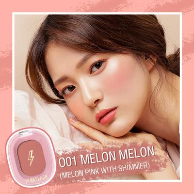 Pink Flash Blush Powder Natural Cheek Blusher Makeup 9 Colors