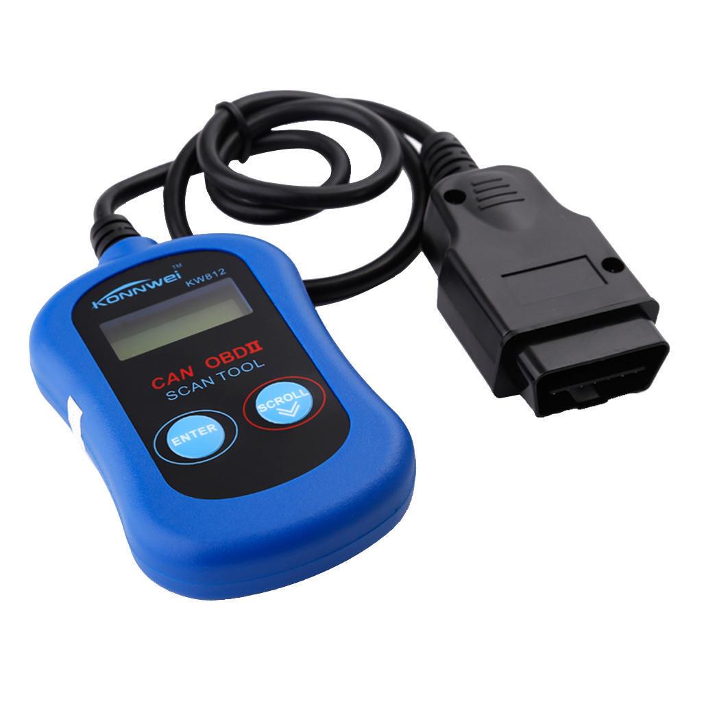 KW812 Interface OBD2 Diagnose Scanner Code Reader für Volkswagen ...