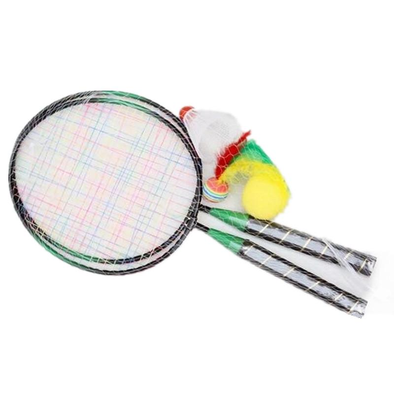 1 Pair Badminton Rackets Sports Cartoon Suit Toy for Youth Kids Children