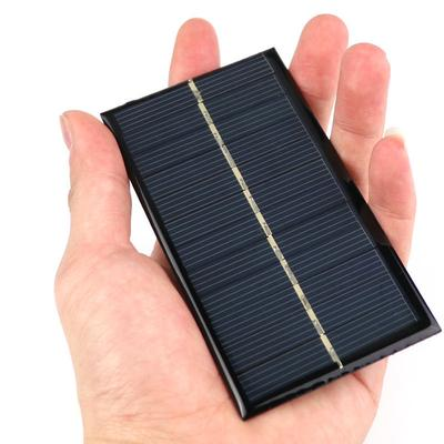 Alert Mini 6v 1w Solar Panel Bank Solar Power Panel Module Diy Power For Light Battery Cell Phone Toy Chargers Portable Active Components