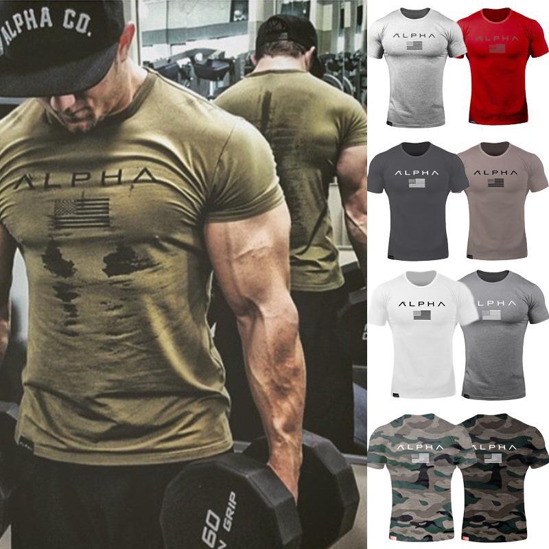 Men/'s Alpha Gym Vest Tank Top Alphalete Fitness Bodybuilding Training Workout