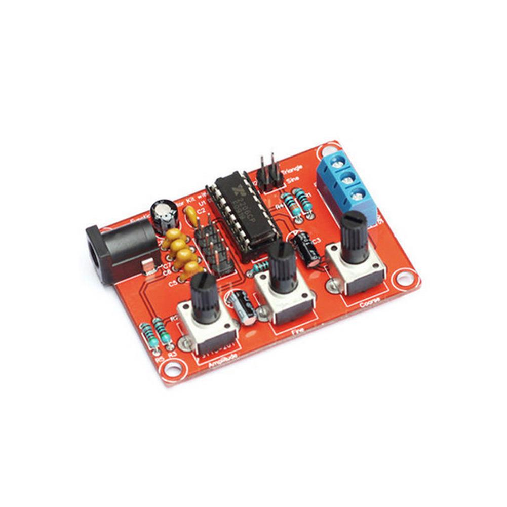 Integrated circuits xr2206 function signal generator diy kit  sine+triangle+square 1hz-1mhz case