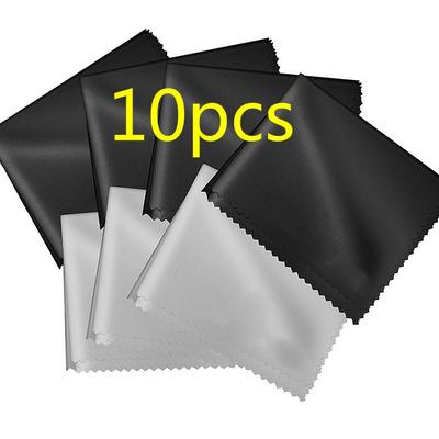 10 Pcs Smooth Cleaner Glasses Lens Cloth Cloths Sunglasses Cleaning Cloth