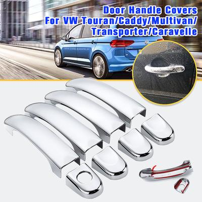 8pcs Car Door Handle Cover Trim Cap For Hyundai Tucson Ix35 2010 2012 Abs Chrome Left Right Buy At A Low Prices On Joom E Commerce Platform