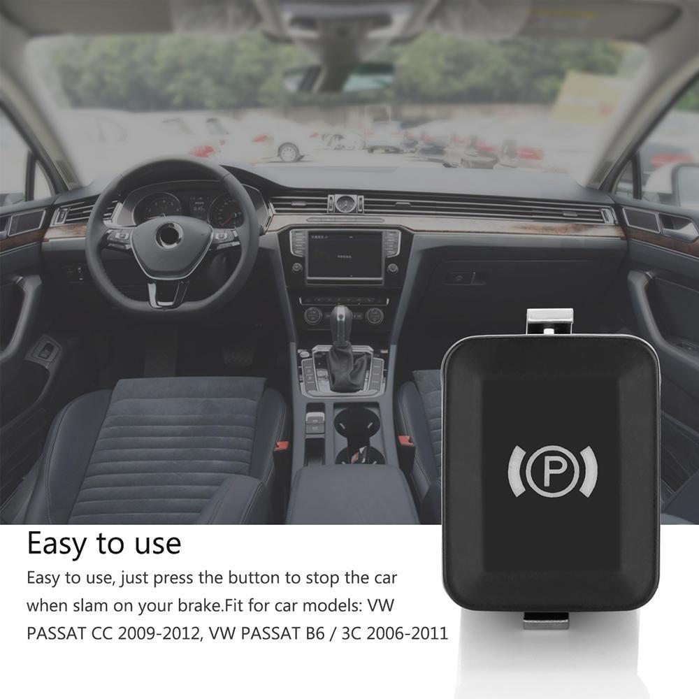 Handbrake Switch Brake Button Electronic Parking for VW 2006-2011 PASSAT B6//3C