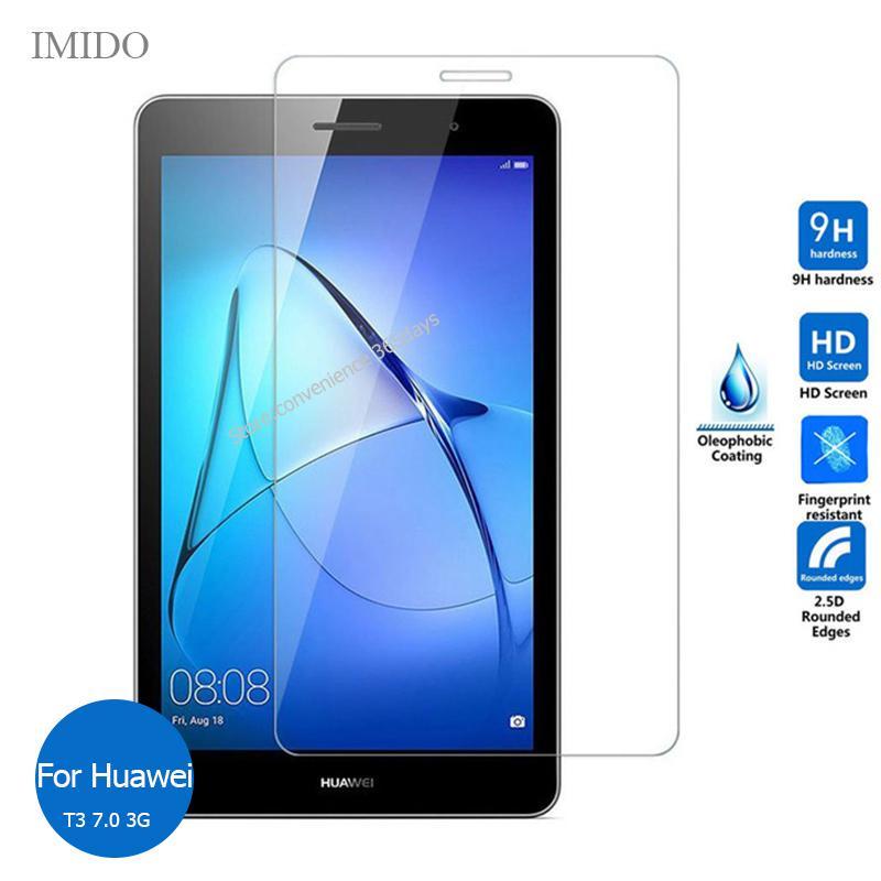 Для Huawei MediaPad Т3 7,0 3G загартованого скла протектор екрану 9h безпеки захисну плівку на Media Pad T 3 7 BG2-U01 BG2 U01