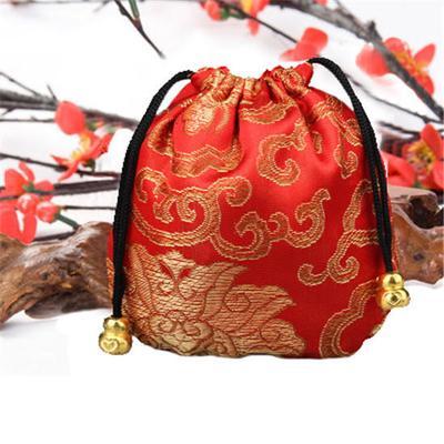 501370a3c2 1 piezas étnicas estilo bordado cordón de seda joyería bolsas bolsa del lazo
