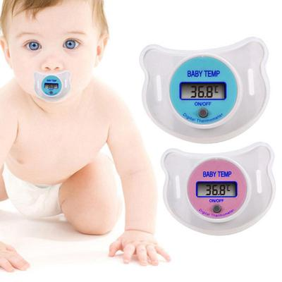 Baby Thermometer LCD Digital Baby Kid Mouth Nipple Pacifier Thermometer Temperature