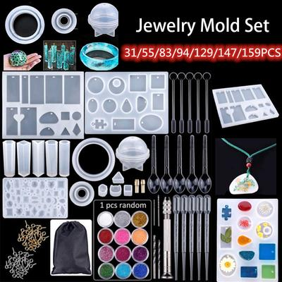 Silicone Molds Mold Resin Casting Pendant Jewelry Craft Making Mould Tool DIY