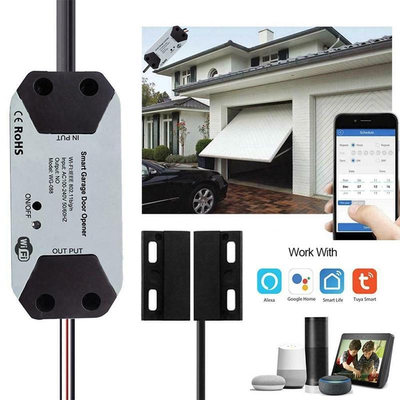 Wifi Switch Smart Garage Door Opener Controller With Alexa Google Home Smart Life App Control Buy At A Low Prices On Joom E Commerce Platform