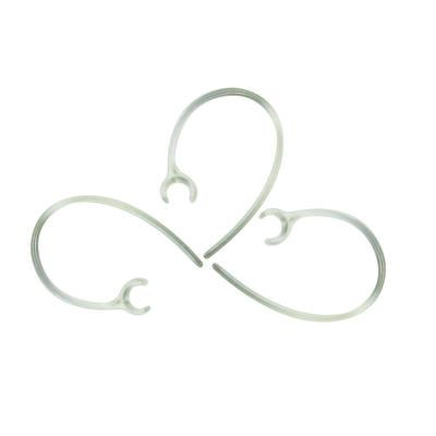 Universal Small Clamp Bluetooth Ear Hook Loop Clip Replacement Clear-4 Portable Audio & Video Consumer Electronics