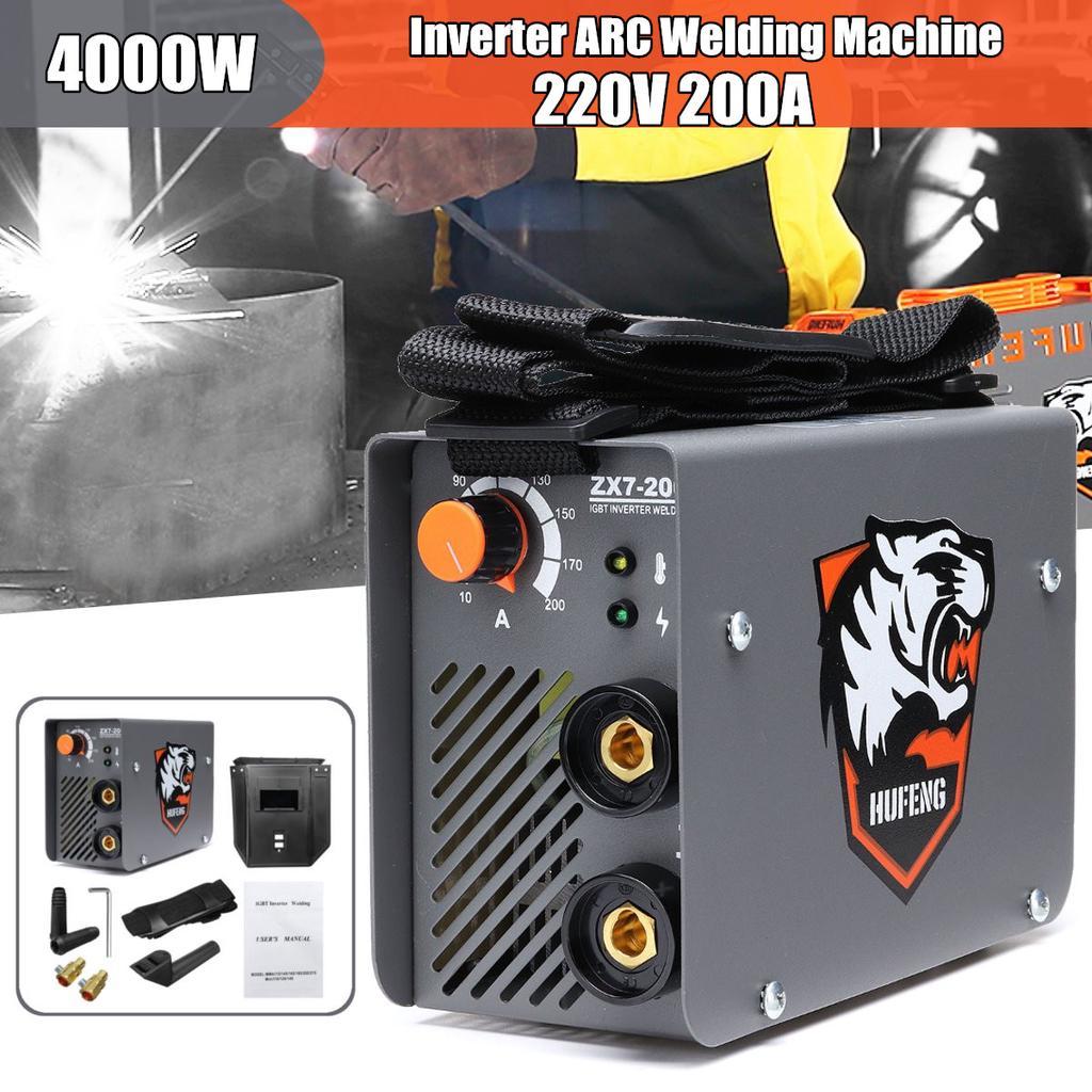 220V ZX7-225 Portable MMA ARC Welder IGBT Welding Machine Soldering Inverter
