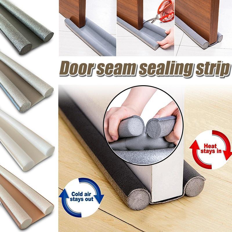 Self-adhesive Door Window Bottom Seal Strip Waterproof Rubber Strip Stoppers