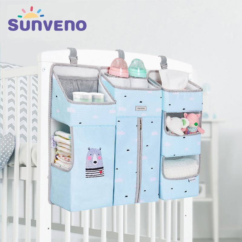 organizador para cuna o pared organizador de pa/ñales para almacenamiento para beb/é Essentials organizador de guarder/ía para beb/é reci/én nacido Organizador colgante para pa/ñales de beb/é