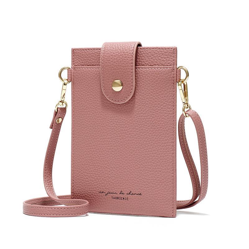 Girls Ladies Flower Embossed Small Cross Body Phone Bags Women Mini Shoulder Bag