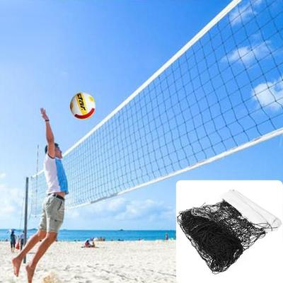 Cotton Rope Volleyball Net 32*3 Foot,Square Mesh 10*10cm for all levels players