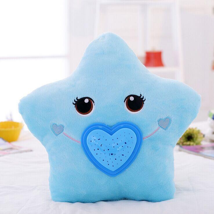 Plush Pillow Stuffed Heart Moon Crown Star Shape Toy Sofa Cushion Room Decor #2