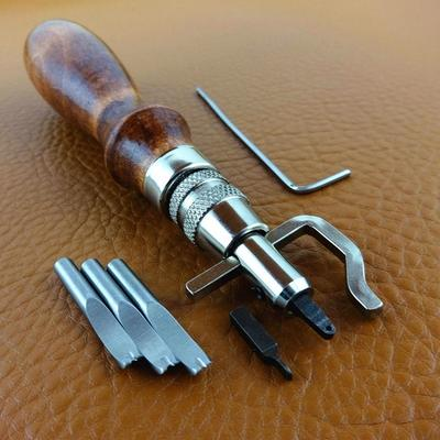 DIY leathercraft skiving edge skiver tool for thinning leather craft blades Fs