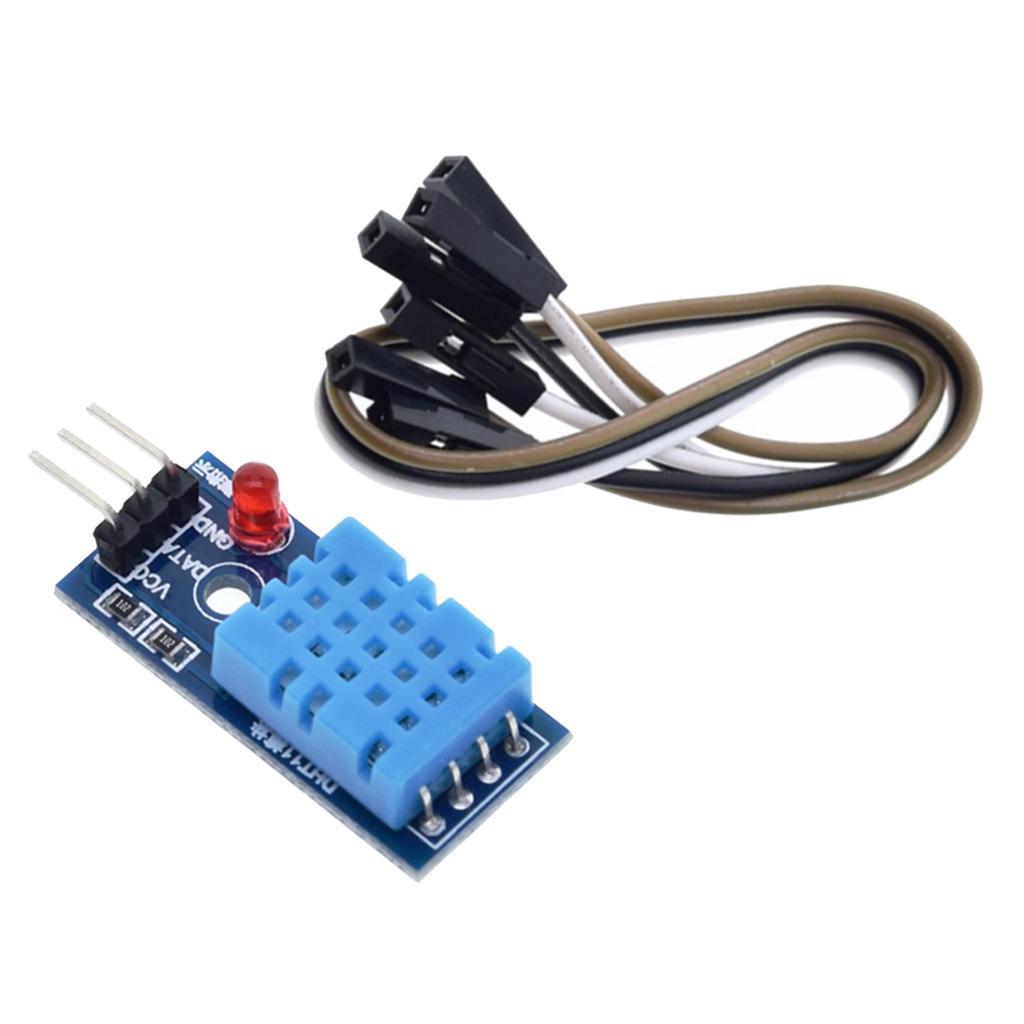 dailymall 3X Digitale DH11 Temperatura del Modulo Sensore di umidit/à con Cavo per Raspberry Pi Kit