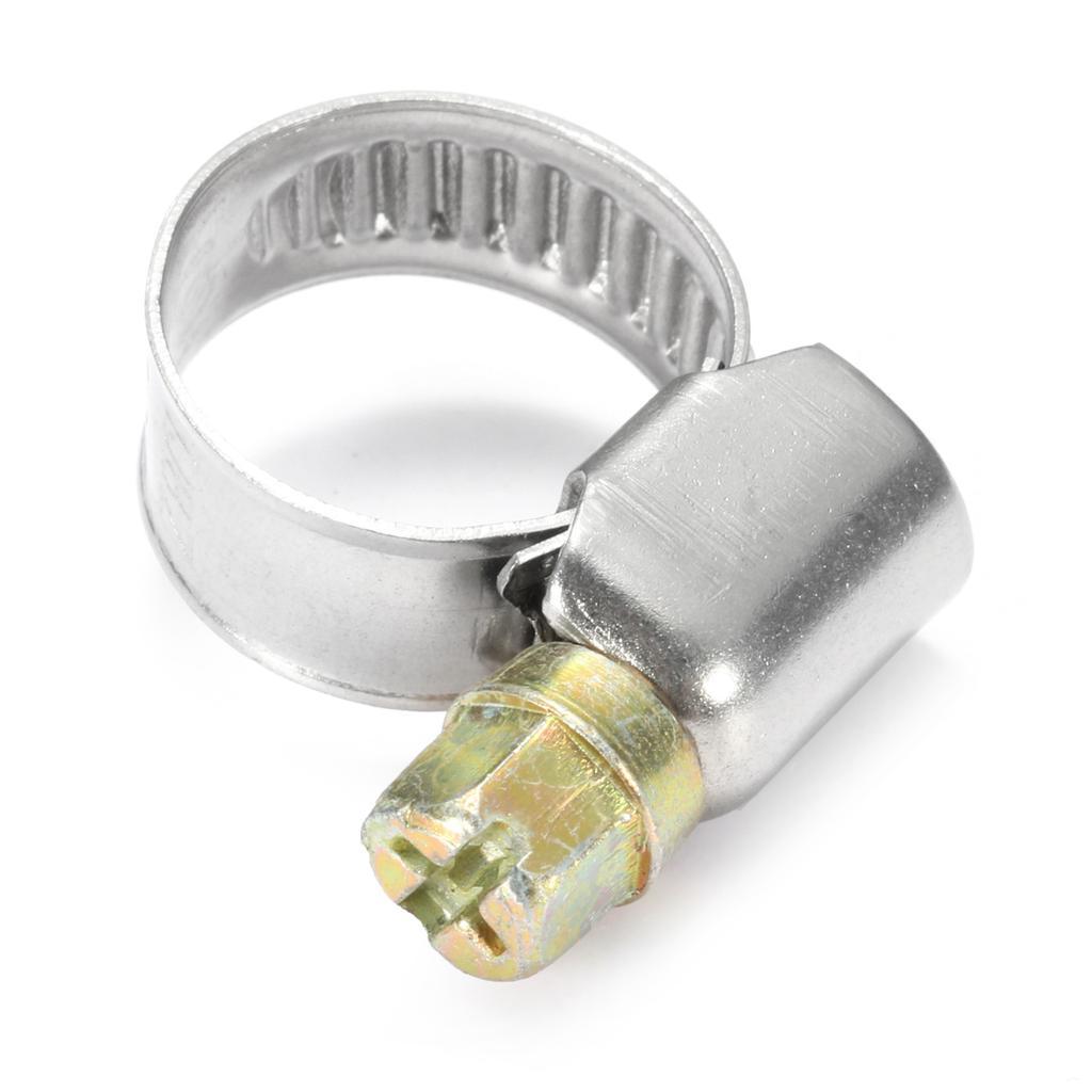 O Clips De Gasolina Diesel abrazaderas Clip De Sujeción De Silicona Manguera Combustible El Tubo De Aire Tubo X 10pc