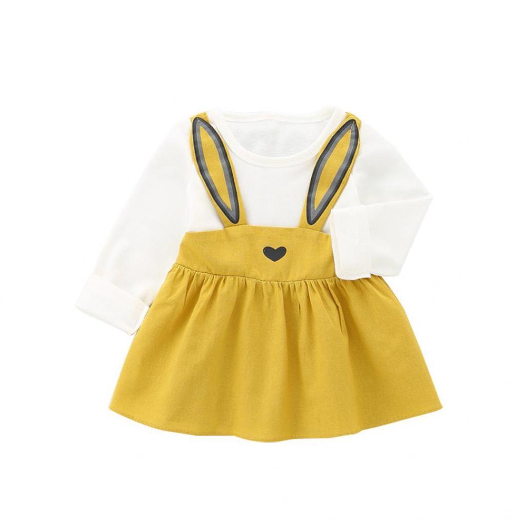 ec101fd5c Orchis 0-3 años otoño bebé niños niño niña lindo conejo vendaje ...