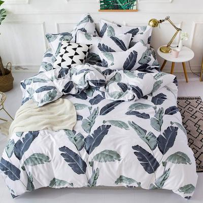ce02a4e08f Shein Allover Leaf Print Sheet Set-buy at a low prices on Joom e ...