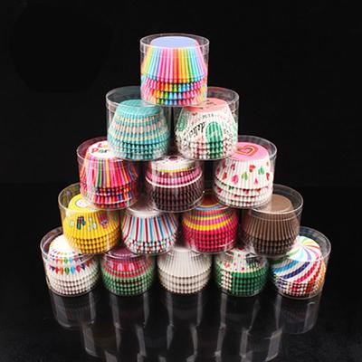 Houseeker 100 Pcs Cupcake Liner Baking Cup Paper Muffin Egg Tarts Tray Cake Mold Decorating Tools