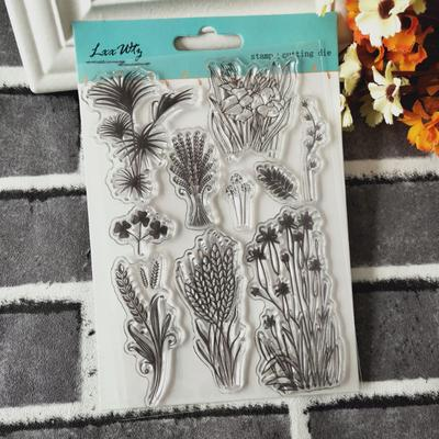 Beautiful Flower Fairy transparent silicone clear rubber stamp cling diary/'decor
