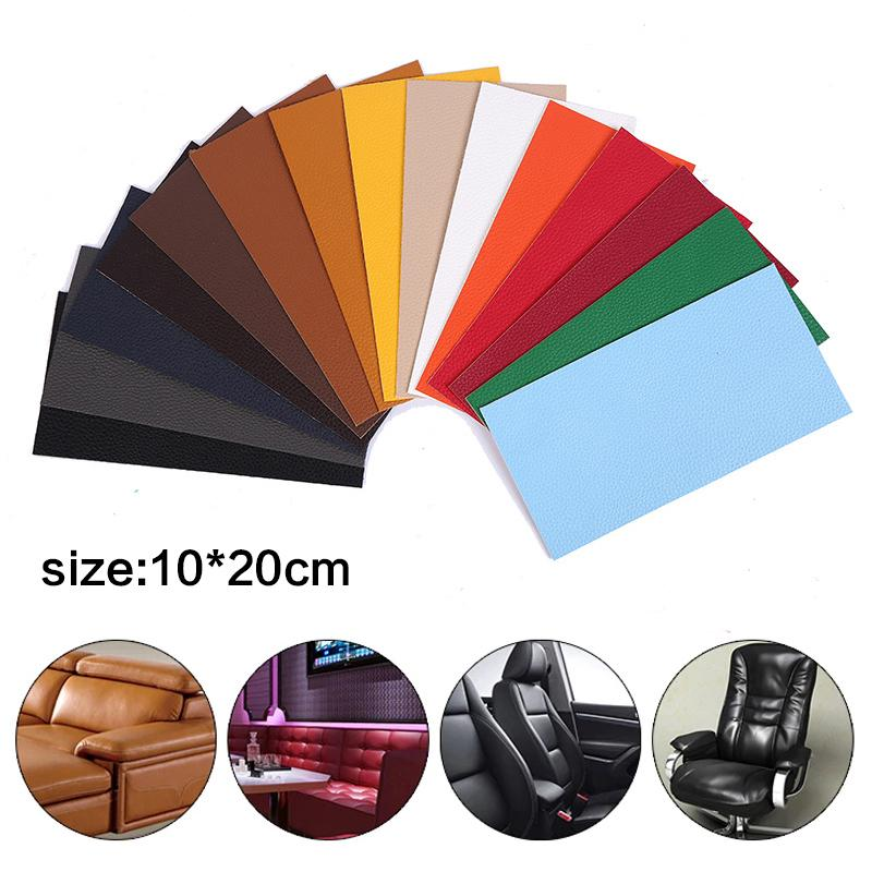 Large Size Leather Patch Self Adhesive Stick-On No Ironing Sofa Stickers Patches