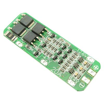 4S 20A 16.8V 4 Packs Cells 18650 Li-ion Lithium Battery BMS Protection PCB Board