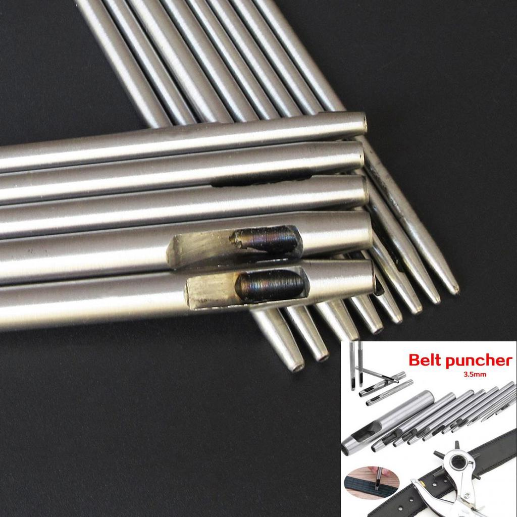 3-17mm Punching Die Leather DIY Punching Drilling Tool Handworking