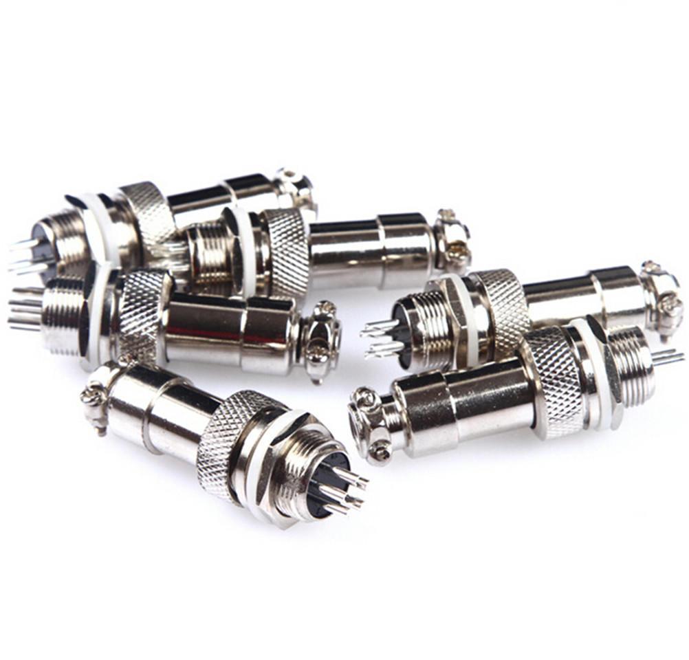 GX12 Aviation Circular Connector Male Plug/& Female Socket Diameter 12mm WS