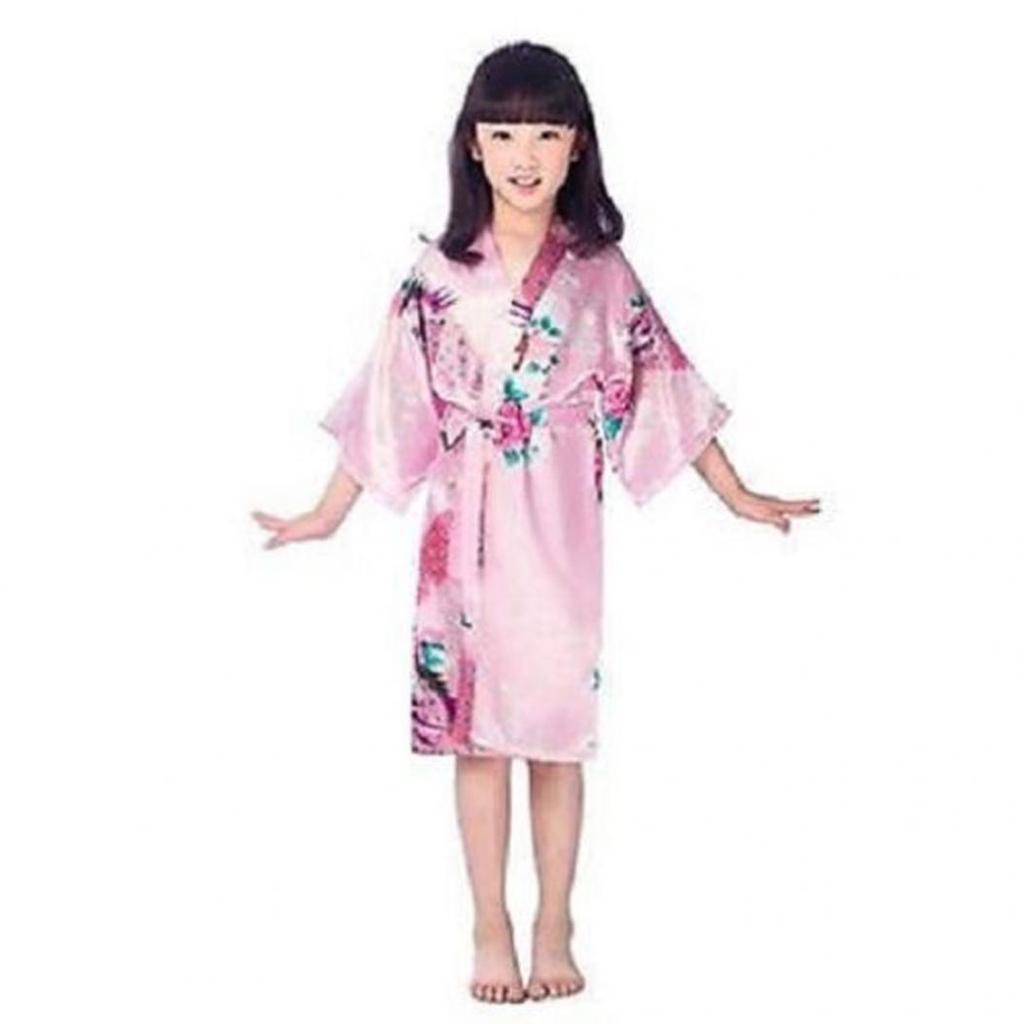 New Kids Girl Children Kimono Dressing Gown Bath Robe/&Homewear*Sleepwear Pajamas