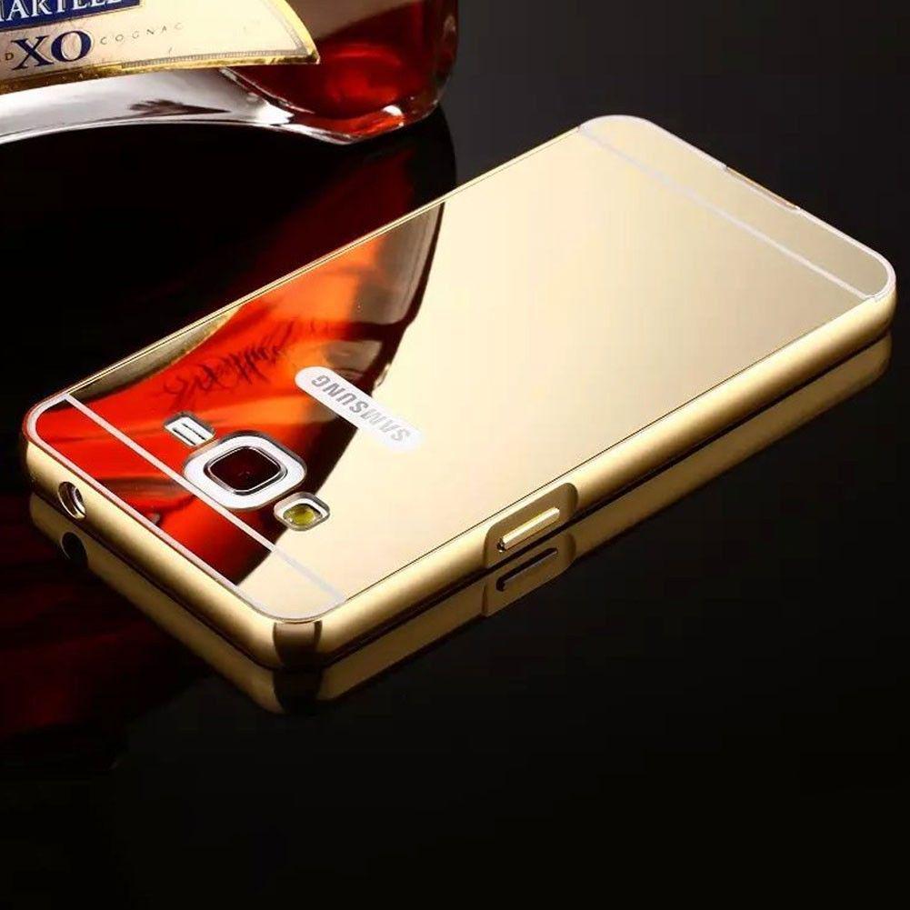 Luxury Aluminum Metal Mirror Case Pc Back Cover Skin For Iphone Bumper Aluminium Untuk Samsung Galaxy A3 2015 1 Of 10