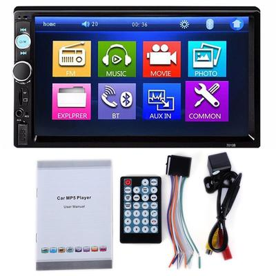 12V Bluetooth Car Radio MP3 Player Stereo Audio with Remote Control