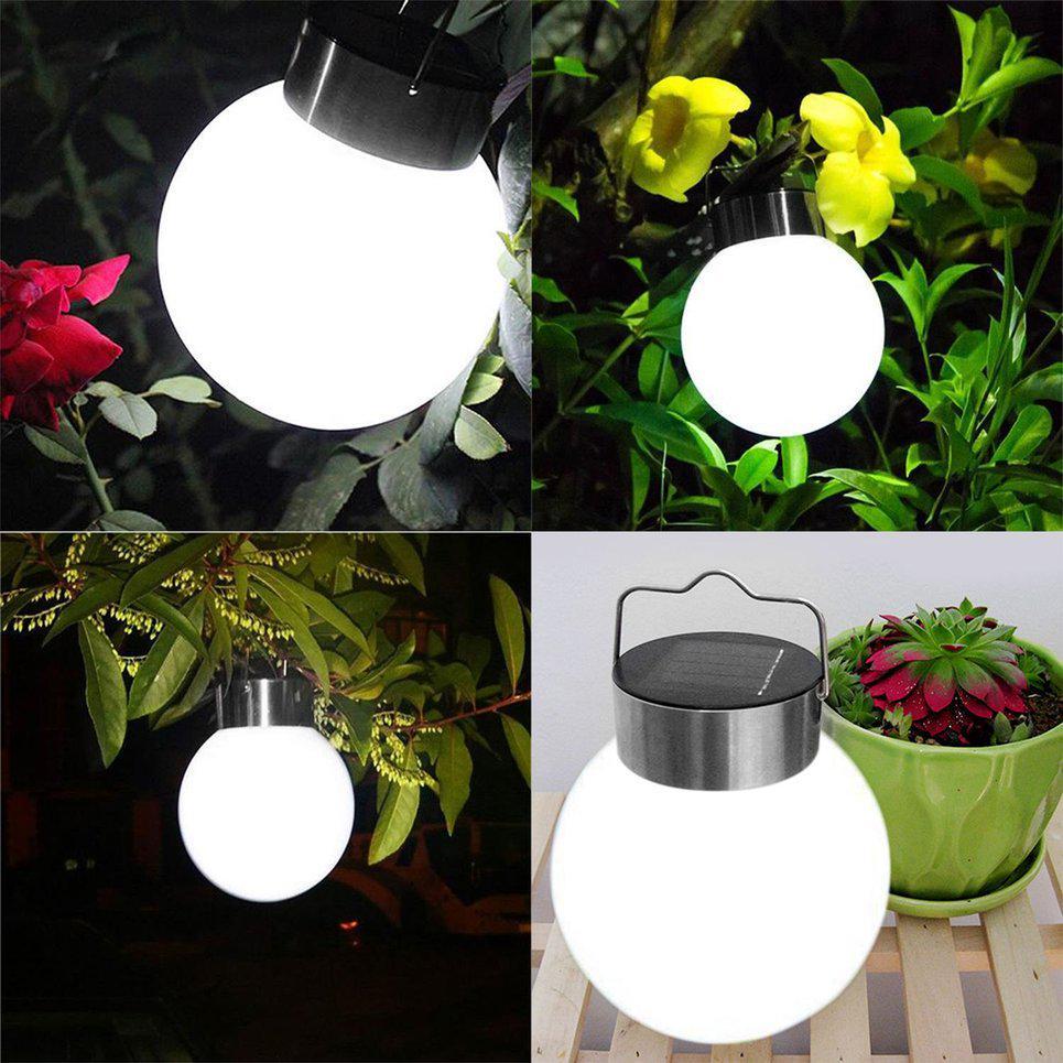 Wasserdichtes RGB 20LED Solar Sensor Blume Baum Leuchte Gartenlampe Rasen Licht