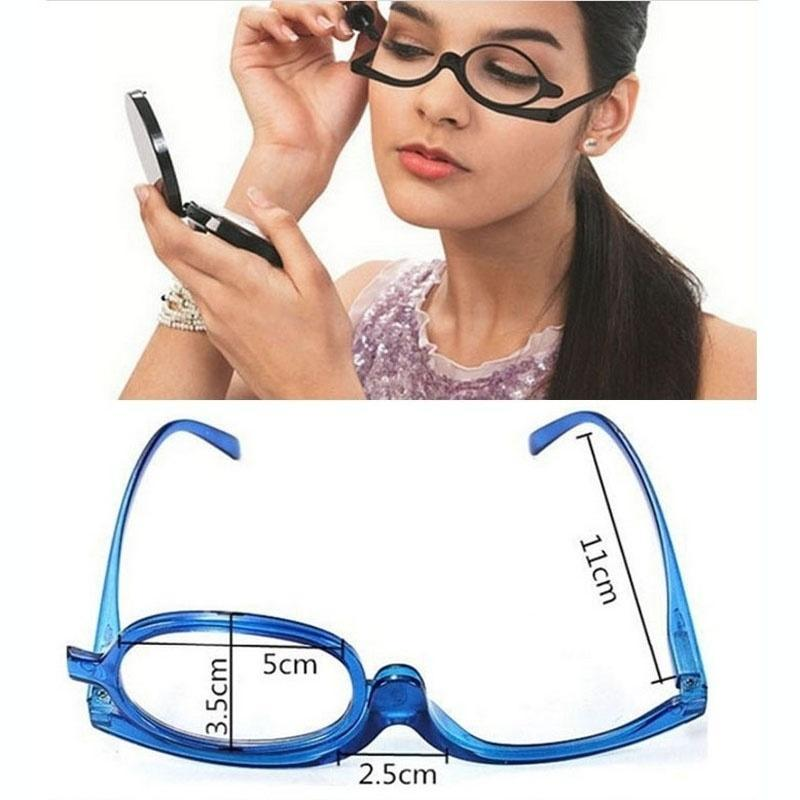 Professional Sale 3 Colors Reading Glass Magnifying Glasses Makeup Folding Eyeglasses Cosmetic General Men's Reading Glasses Men's Glasses