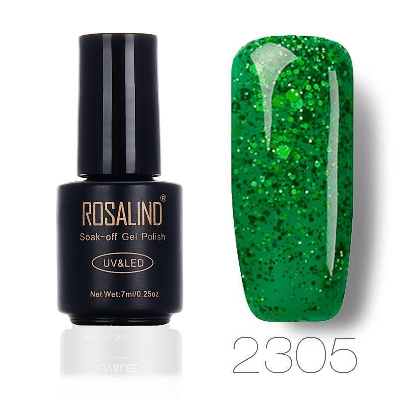 Diamante rojo Gel colorido esmalte de uñas UV LED barniz empapa ...