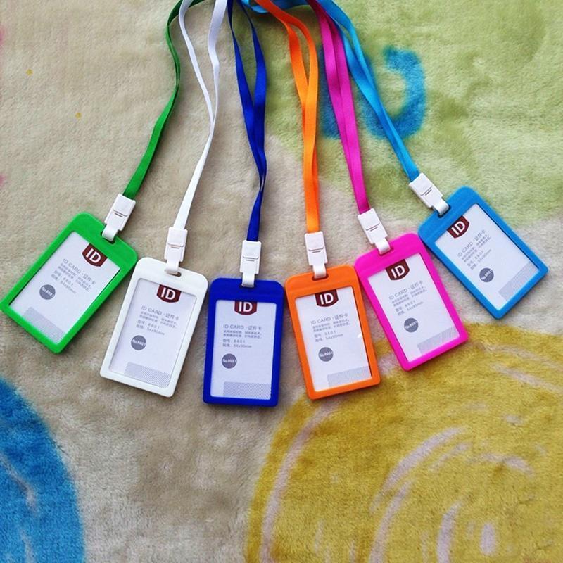 Держатели банковских карт подшипник карты карты ID автобус Держатели конфеты цвета знак идентичности с талреп фото
