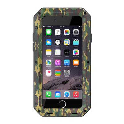 Waterproof Three in one Hybrid 360 Full Cover Metal Screw Phone Case For iPhone 6 6S