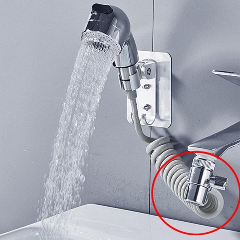 Home Faucet Valve Diverter Adapter Sink Faucet Connector Splitter Water Tap