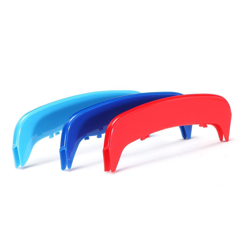 Grill Grille Stripe Bar Cover Decor Trim For BMW E46 2002-2004 Heat Resistant